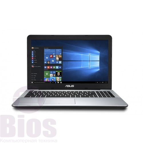 "Ноутбук бу 15.6"" Asus X555LA  (1366x768) HD LED, матовый / Intel Core i3-4030U (1.9 ГГц) / RAM 4 ГБ / HDD 500 ГБ / Intel HD Graphics 4400 / DVD Super Multi / LAN / Wi-Fi / Bluetooth / 2.3 кг / серый"