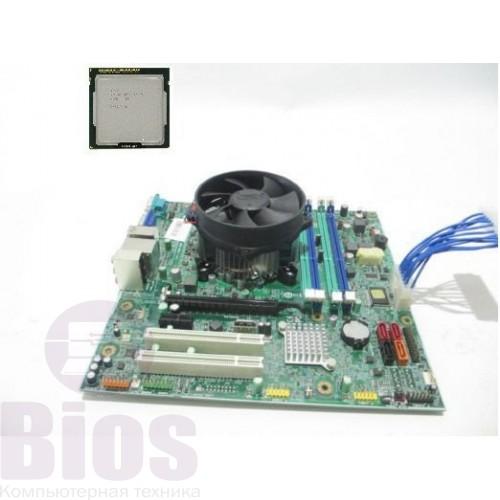 Комплект материнская плата бу Lenovo IS8XM   s1150+I5 4570