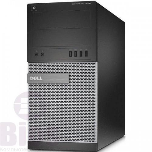 Игровой компьютер Б/у Dell 7020  Intel Core I5 4590/8/ssd 240/ 500/ GTX 1060 6 gb
