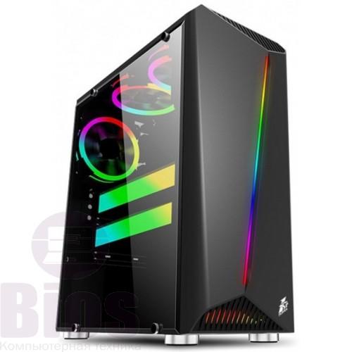 Игровой компьютер Бу /Core I7 4770/RAM 16 GB/SSD 240/HDD 500/GeForce GTX1070 8gb/ATX 500W