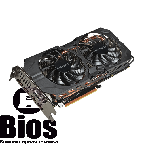 Видеокарта бу  Radeon  R9 390 8Gb Gigabyte Gaming