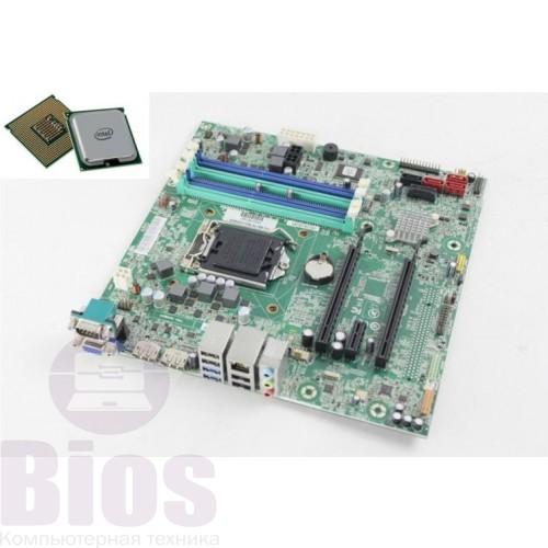 Комплект материнская плата МВ бу Lenovo IS7XM   s1155 / pentium G2130 / кулер