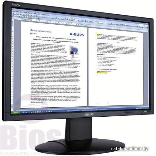 """Монитор Б/у 20"""" Philips 200vw"""