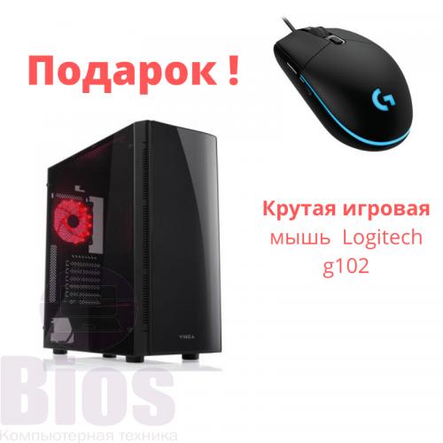 Игровой компьютер Б/у i5 4670/RAM 16gb/SSD 240/HDD 500 gb/GTX 1070 8 gb/ БП 1350W/+ Подарок мышка Logitech G102