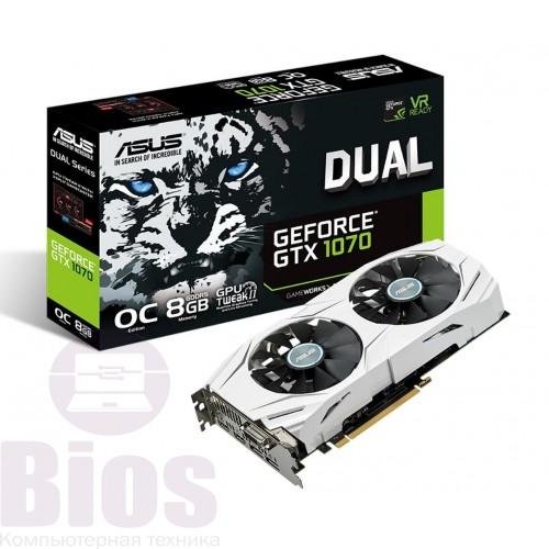 Видеокарта буGeForce GTX 1060 Dual O3GотAsusобъемом памяти3 ГБ GDDR5/ 192bit