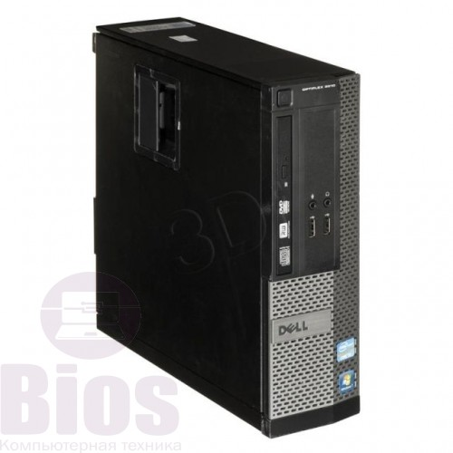 Компьютер бу Dell OptiPlex 3010 con Intel Core i3-3220 3.40GHz/4GB Ram/500GB