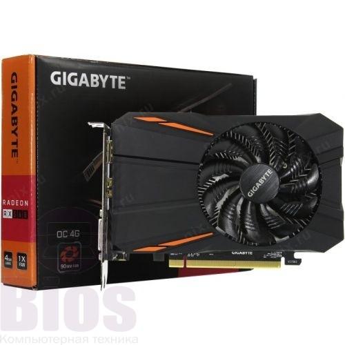 Видеокарта буGigabyte PCI-Ex Radeon RX 560 OC 2GB GDDR5 (128bit) (1189/7000) (DVI, HDMI, Display Port)