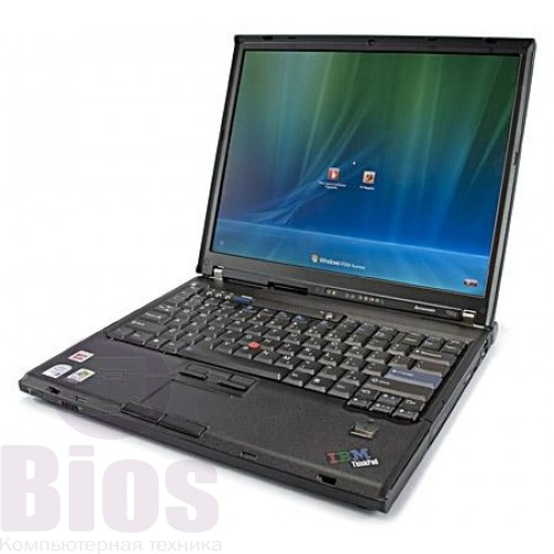 "Ноутбук бу Lenovo ThinkPad T60p 15""/Intel Core 2 Duo T7600/RAM 3GB/HDD 250GB/Video Int"