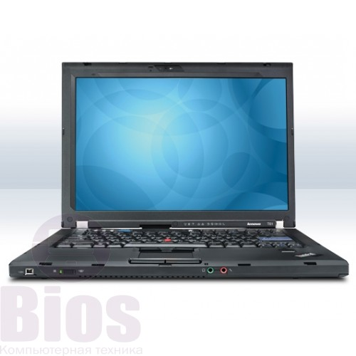 "Ноутбук бу Lenovo T61p 14""/Core 2 Duo T8100/RAM 3GB/HDD 250GB/Video Intel"