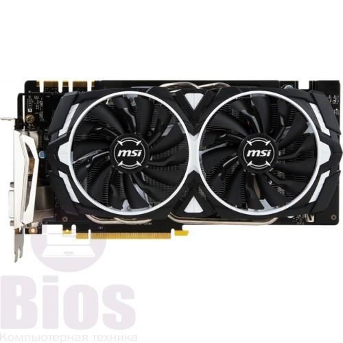 Видеокарта бу  MSI GeForce GTX 1070 ARMOR 8Gb  OC