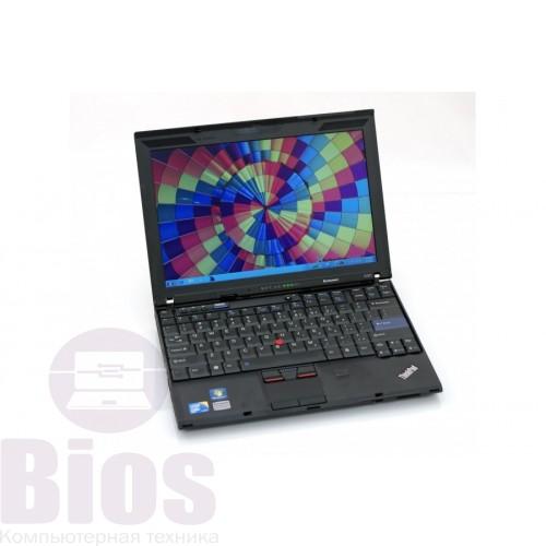 """Ноутбук Б/у 12,5"""" Lenovo X201 I5 520m/RAM 8 gb/ SSD 120 gb/"""