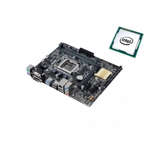 Комплект Материнская плата Asus H110M-K+ Intel Celeron G3900