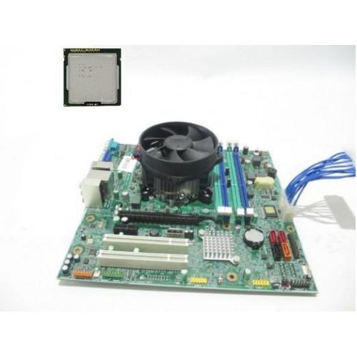 Комплект s1150 материнская плата Lenovo IS8XM /Процессор intel pentium G3250+кулер б/у