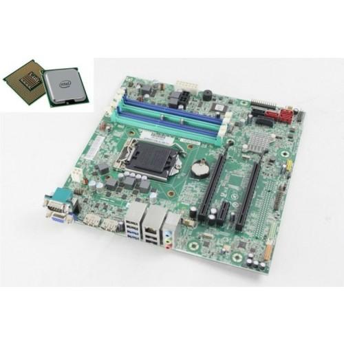 Комплект материнская плата МВ бу Lenovo IS8XM   s1150 / pentium G2120 / кулер