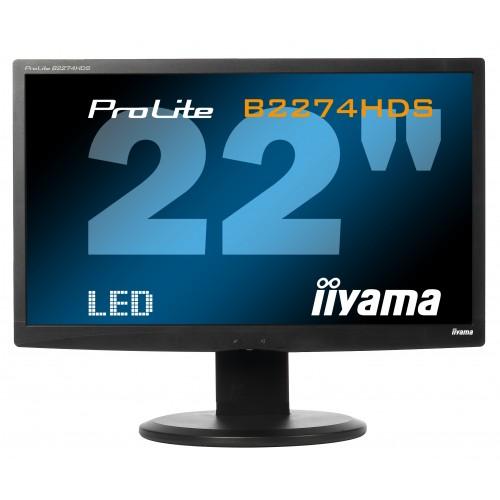 """Монитор бу 22"""" iiyama B2274HDS Full HD"""