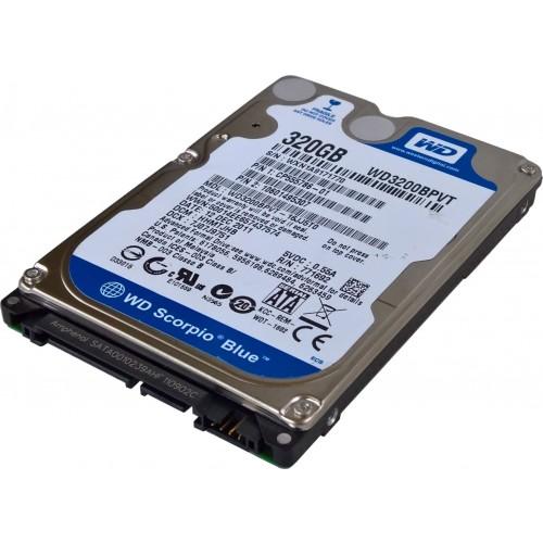"Жесткий Диск Бу SATA HDD 2,5""  320 Gb"
