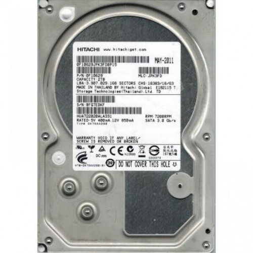 Жесткий диск бу HDD SATA  160Gb Hitachi