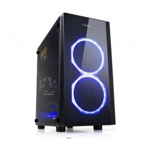 Игровой копьютер Б/у Athlon X4 860K 4 ядра 3.7ghz/8GB/ssd 240Gb/rx 470 4 gb/Корпус Vinga Graphyte 500ват